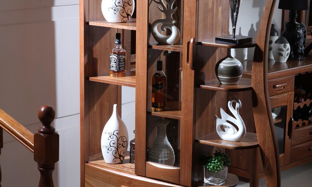 酒柜装饰柜双面鞋柜隔断柜_思可达家具_小美式家具图片